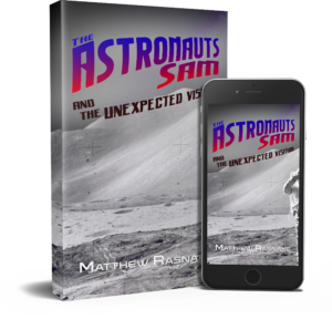 """The Astronauts Sam and the Unexpected Visitor"" cover image"